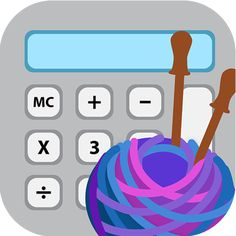 When your gauge is off, this calculates the number or rows/stitches to match the pattern gauge.