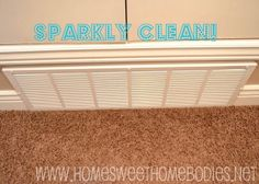 Home Sweet Homebodies: Cleaning Tip: Air Vents
