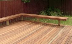 The deck gives you an excellent way to relish your backyard. You also are interested in being in a position to find out what the deck will look like from various angles. Deck Bench Seating, Patio Bench, Built In Seating, Garden Seating, Backyard Patio, Patio Decks, Deck Pergola, Patio Table, Pergola Kits