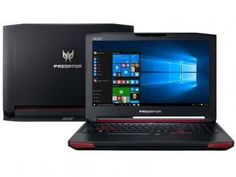 "Notebook Acer Predator Intel Core i7 6ª Geração - 16GB 1TB LED 17,3"" Placa Vídeo 4GB Windows 10"