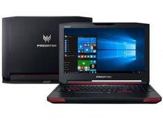 "Notebook Acer Predator 15 Intel Core i7 - 16GB 1TB LCD 15,6"" Placa de Vídeo 8GB Windows 10"