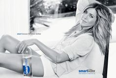 Jennifer Aniston- campaign for Smartwater
