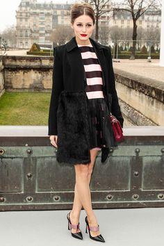 Los VIP del Paris Fashion Week Otono Invierno 2013 - Olivia Palermo