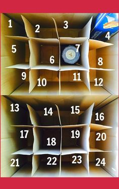 reverse advent calendar to collect food for the local food bank.  :)