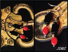 black and red on gold... who wouldn't love it :-) try it.. simple yet sophisticated