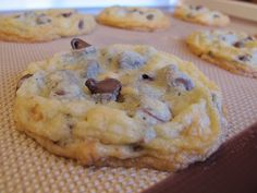 chocolate macadamia nut cookies...just like Pepperidge Farms cookies! I think it should have coconut, but this recipe does not.