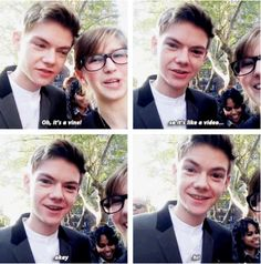 This vine is the best! Why? It's got Thomas Brodie-Sangster! https://www.youtube.com/watch?v=LrQcLD8-xaQ