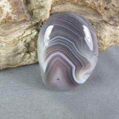 Botswana Agate! Such a pretty color and pattern!