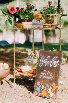 buffet de boisson mariage ete indien