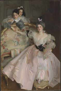 """Sargent's """"Mrs. Carl Meyer and her Children"""" – Underpaintings Magazine"""