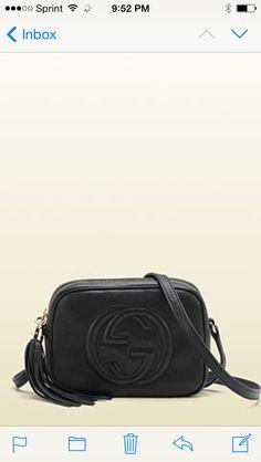 Soho Leather Disco Bag, Black by Gucci at Neiman Marcus. Gucci Crossbody Bag , 079b73e9d11