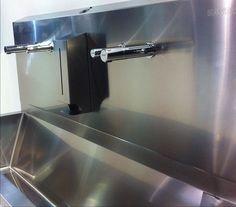 Tubular & Tubular Soap Dispenser in stainless steel washdraft