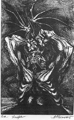 ! Corinthian, Marcel, Devil, Painting, Art, Art Background, Painting Art, Kunst, Demons