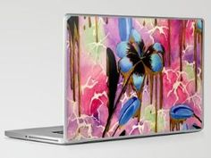 Breaking Down Time Laptop & iPad Skin by Kristen Willsher | Society6