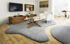INKU kusové koberce Live Your Home, Live For Yourself, Rugs On Carpet, Carpets, Home Interior Design, Shag Rug, Contemporary, Inspiration, Austria