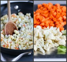 Slow Cooker Vegetable Curry Recipe with Sweet Potato & Chickpeas   cookincanuck.com #vegetarian #vegan #MeatlessMonday
