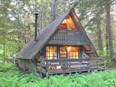 Snowline Cabin #86 A very rustic pet friendly cabin with wood burning stove.. This rustic 2-story cabin has 3 bedrooms, 1/2 bath along with a separate showe...