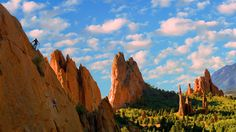 Garden of The Gods in Colorado Springs is pretty damn amazing, but be careful when climbing it. You might get a fine of around $1,000 or more!