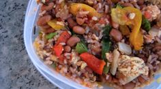 freezer-friendly mexican rice & bean dish | healthy homemade frozen dinners