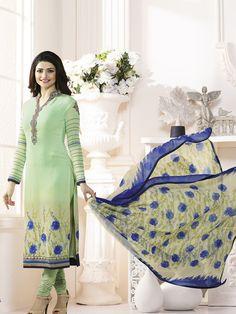 afd8575a13f1 49 Best Crepe Salwar Kameez images | Churidar suits, Designer salwar ...