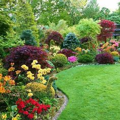 Most Design Ideas Beautiful English Garden Pictures, And Inspiration – House Design Ideas Garden Wallpaper, Landscape Design, Garden Design, Garden Cart, Garden Borders, Front Yard Landscaping, Flower Beds, Garden Inspiration, Beautiful Gardens