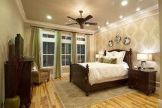 Cherry traditional bedroom