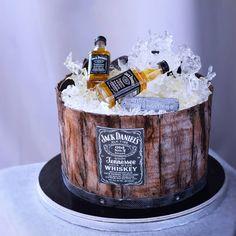 Whisky Jack, Cake Boss, Sugar Art, Jack Daniels, Baking Ingredients, Cookie Dough, Fondant, Cookies, Food