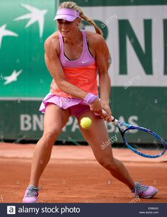 Epa04767439 Carina Witthoeft Of Germany In Action Against Katerina ...