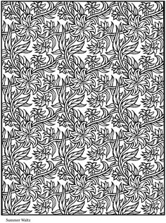 Welcome to Dover Publications / Creative Haven Lotus Designs Coloring Book / Alberta Hutchinson Dover Coloring Pages, Pattern Coloring Pages, Printable Coloring Pages, Coloring Pages For Kids, Coloring Sheets, Doodle Coloring, Colouring Pics, Mandala Coloring, Coloring Books