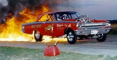 Brian Kohlmann fire burnout. Photo by Pete Orres.jpg (405×210)