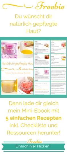 Naturkosmetik 5 Rezepte für natürlich gepflegte Haut
