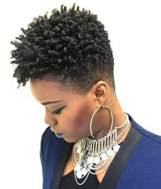 Type hair is underrepresented and it can be hard to find info on how to properly take care of our hair. Here's some tips to help you manage your hair. - May 05 2019 at Short Natural Styles, Natural Hair Short Cuts, Short Natural Haircuts, Short Hair Cuts, Tapered Natural Hairstyles, Natural Hair Twa, Short Styles, Twisted Hair, Twa Hairstyles