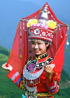 Minority Beauty at Longji, China