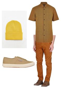 Snow White and the Seven Dwarves- Sneezy by anna-oliphant-dun on Polyvore featuring polyvore, River Island, MONOCROM, Superga, mens, men, men's wear, mens wear, male, mens clothing, mens fashion, disney, snowwhite and sneezy
