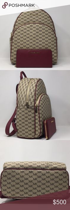 71d2439f2a -Approximate measurements  x x Michael Kors Bags Backpacks
