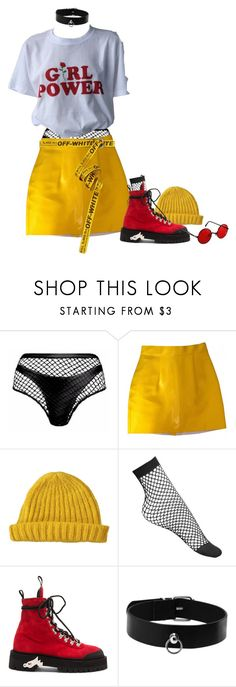 """Unbenannt #790"" by liveblvck ❤ liked on Polyvore featuring Agent Provocateur, American Apparel, Lowie, Lamoda, Off-White and pride"
