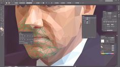 Artist of the Week: Low Poly Portrait Tutorials by Breno Bitencourt