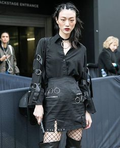Asian Street Style, Japanese Street Fashion, Tokyo Fashion, Harajuku Fashion, Grunge Fashion, Asian Fashion, Fashion Outfits, Fashion Tips, Alternative Mode