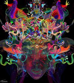"archann:  Archan Nair -New Artwork titled "" Luminance"" Website//Facebook//Instagram"