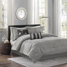 Madison Park Lawrence 7-Piece Comforter Set   Overstock™ Shopping - Great Deals on Madison Park Comforter Sets