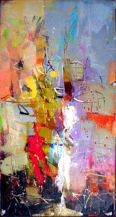 "What makes ""contemporary"" art successful (even to a non-art… - PaintinG Art Amour, Modern Art, Contemporary Art, Art Et Illustration, Art Design, Love Art, Painting Inspiration, Painting & Drawing, Amazing Art"