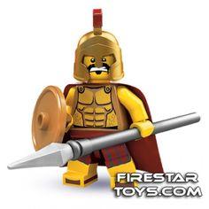 LEGO Minifigures - Spartan Warrior | Minifigures Series 2 | Collectable LEGO Minifigures | Firestartoys.com