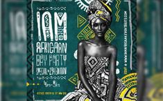 An event to remember starts with an unforgettable flyer. Get inspired by this curated gallery and create your own Event Flyer for free using our templates. This beautiful flyer was designed for the I am African Day Party. Flyer Design Inspiration, Composition Design, Event Flyers, Creative Posters, Creative Flyers, Photoshop, Graphic Design Posters, Poster Designs, Illustrations Posters