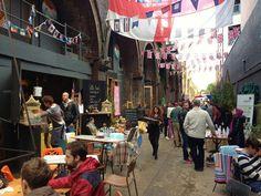 Maltby Market in the Ropewalk district London #LondondotBuzz