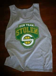 For the Seattle Sonics fans.
