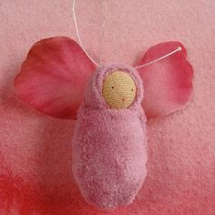 rose fairy baby (for the advent calender)