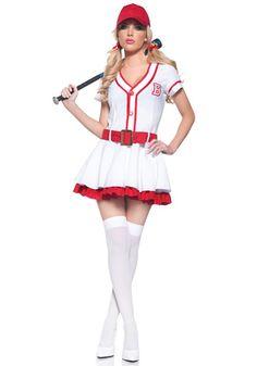 playboy homerun hottie baseball halloween costume for women medium products pinterest baseball halloween costume and products - Baseball Halloween Costume For Girls