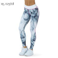 Rainbow Jeans Stretch Straight Fit Damenjeans Twill Hose Print Damenhose Mode
