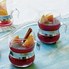 Mulled Cider and Wine