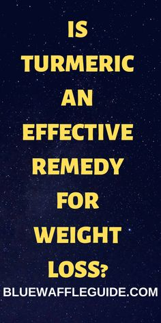 Is Turmeric An Effective Remedy For Weight Loss? Is Turmeric An Effective Remedy For Weight Loss? Weight Loss Detox, Weight Loss Drinks, Full Body Detox, Natural Detox Drinks, Healthy Detox, Healthy Nutrition, Healthy Weight, Nutrition Guide, Champion Nutrition